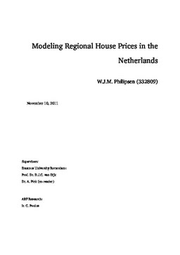 Modeling house prices