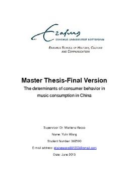 Graduation papers: EUR nl - Erasmus Universiteit Rotterdam