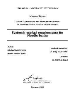 Dissertation on bank credit risk management