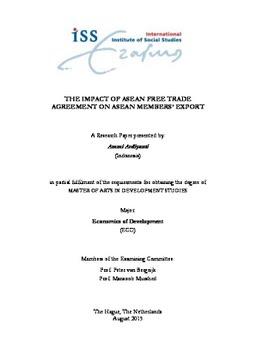 Master thesis agreement Yumpu