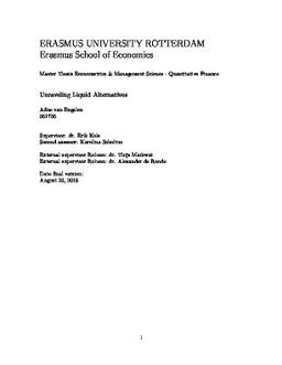 Master Thesis - Erasmus University Thesis Repository