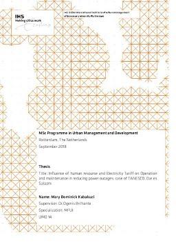 Erasmus University Thesis Repository: Influence of human resource
