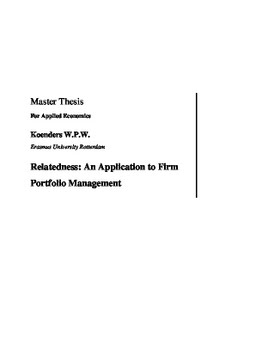 master thesis portfolio management Master thesis - active management of non-granular loan portfolios to active portfolio management may serve to enhance portfolio information, profitability.